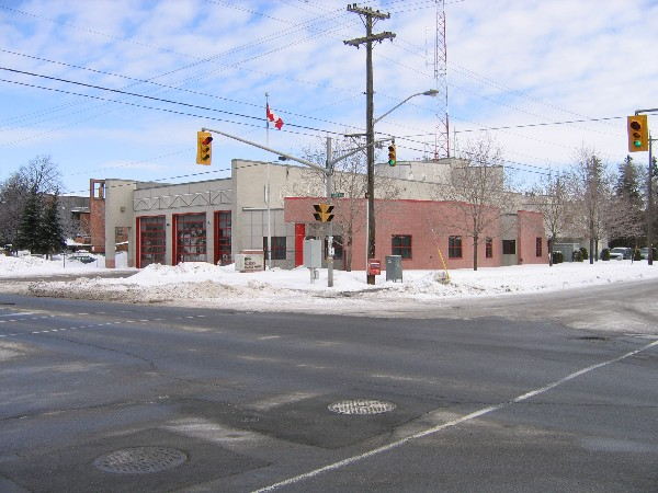 Fire Station at Alta Vista and Randall