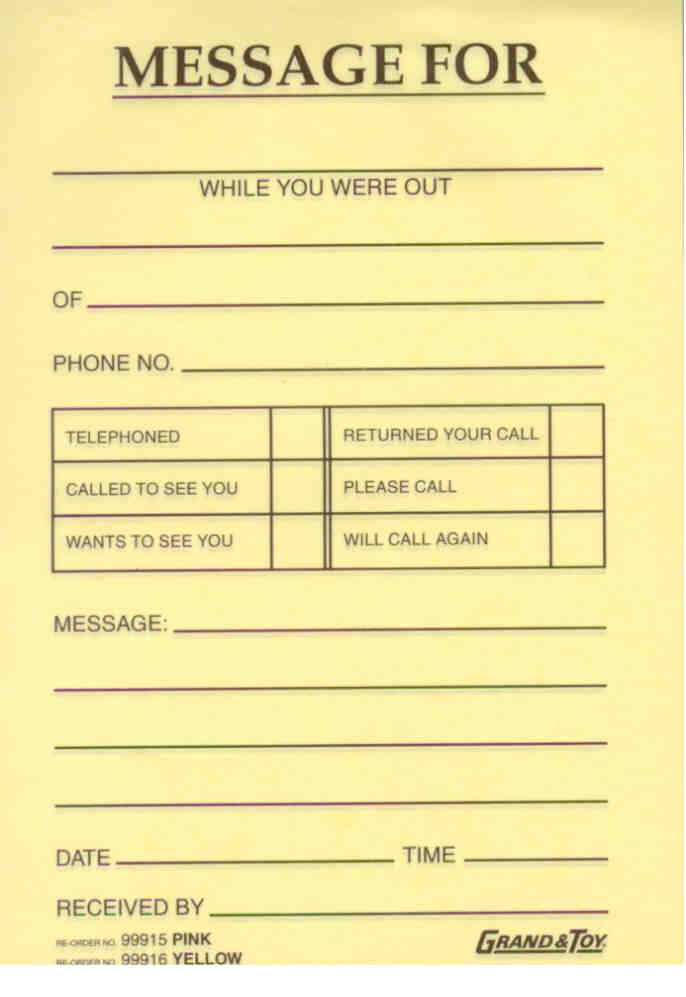 Message Pad